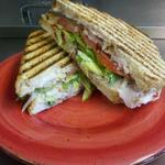T.B.R. : Turkey, Bacon and Ranch grilled on vienna french with fresh lettuce, tomato and onion $6.49