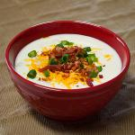 Loaded Baked Potato Soup (ROTATING SOUP SPECIAL) Please call for today's selection